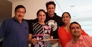 Shalin Bhanot with her family