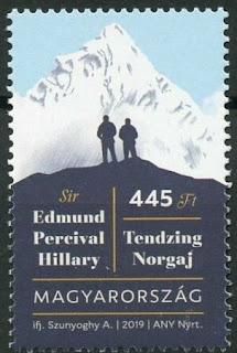 Hungary 2019 Sir Edmund Hillary Tendzing Norgaj