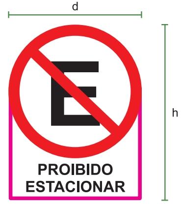 proibido estacionar enem 2019