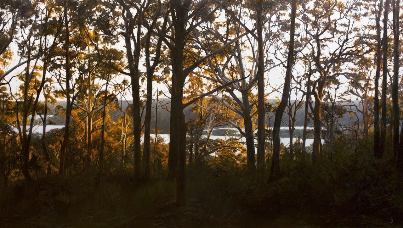 Sombras e Silhuetas - Matthew Weathers e suas pinturas | O pintor da luz