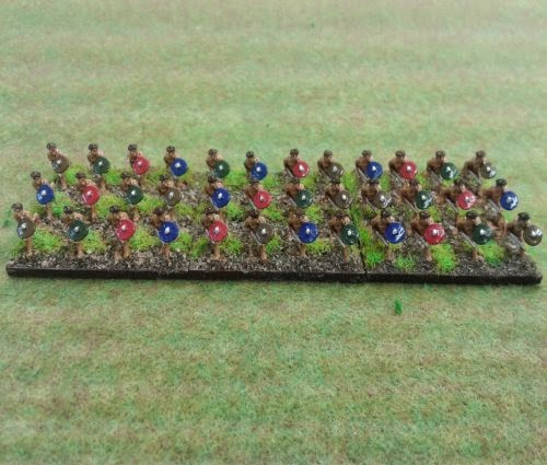 Painting Gallic & Celtic Fanatic Warband (Gaesati) picture 2