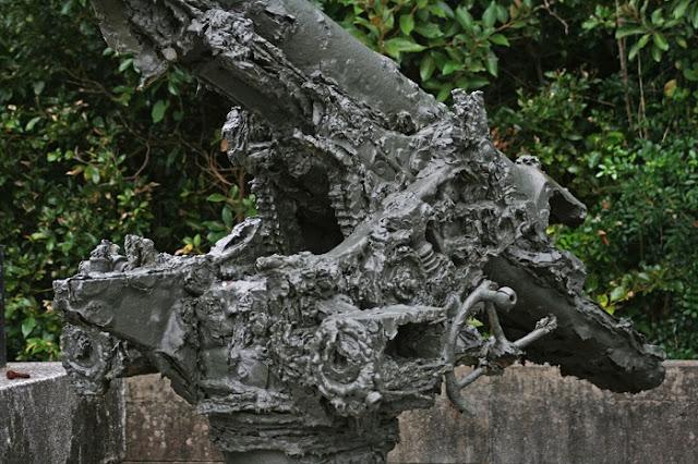 高射砲の可動部分の写真