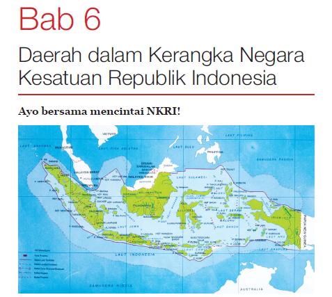 Ringkasan Materi Ppkn Kelas 7 Bab 6 Daerah Dalam Kerangka Negara Kesatuan Republik Indonesia Cecepgaos Com