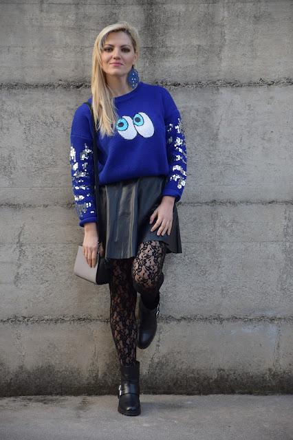 outfit gonna nera outfit nero come abbinare il nero mariafelicia magno fashion blogger colorblock by felym fashion blog italiani fashion blogger italiane blogger italiane di moda outfit febbraio 2017