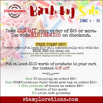 June Birthday Sale
