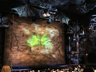 Wicked Set Broadway