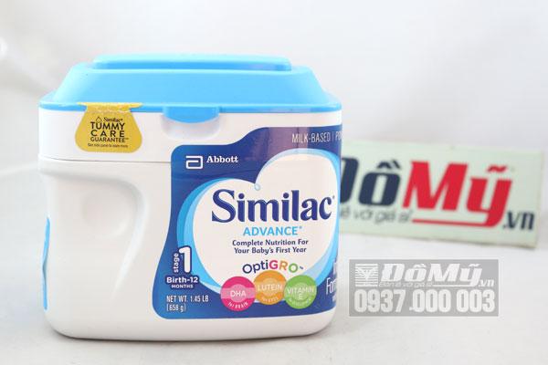 Các bà mẹ có nên cho bé dùng sữa similac Advance Hoa Kì hay không?