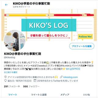 Twitterプロフィールのスクリーンショット