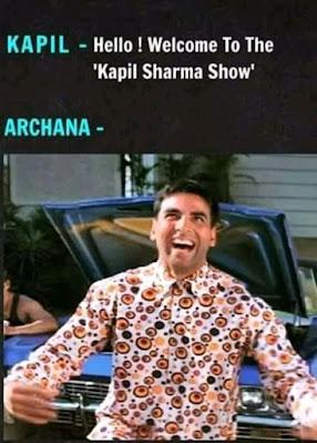 Capil shrma show memes in hindi
