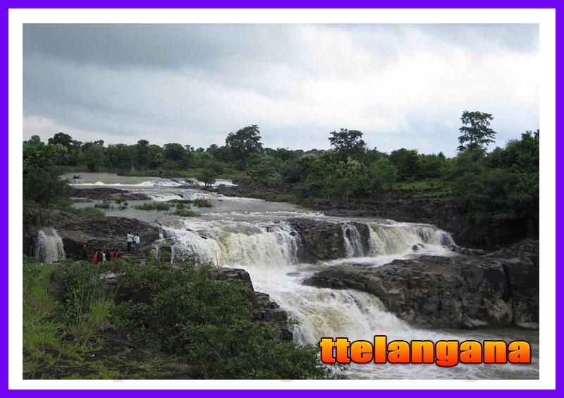 Waterfalls Pochera in Telangana