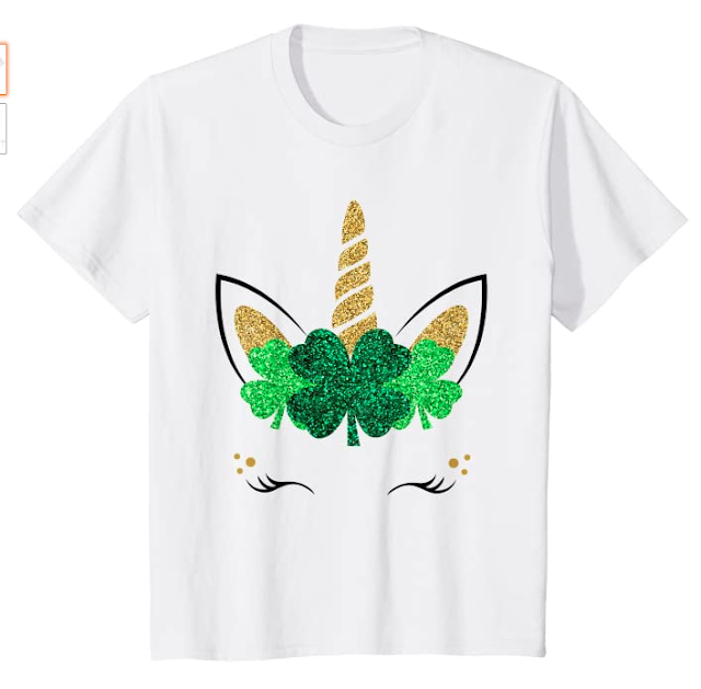 Unicorn Shamrock Shirt
