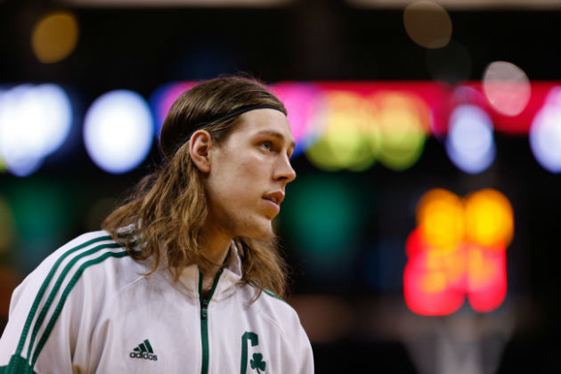 Kelly Olynyk, pivot des Boston Celtics