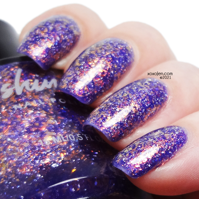 xoxoJen's swatch of KBShimmer Witch Please