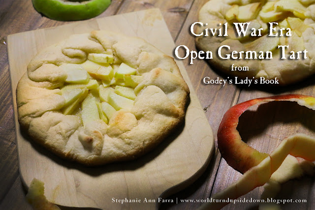 Civil War 1860s Recipe Apple Tart