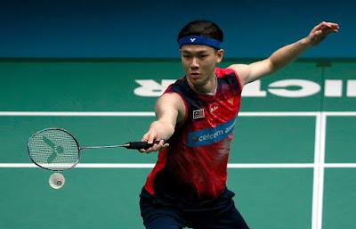 Biodata Lee Zii Jia Pemain Badminton Malaysia