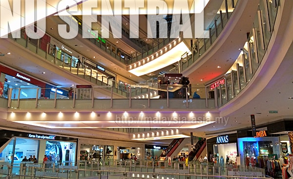 Nu Sentral Shopping Mall KL