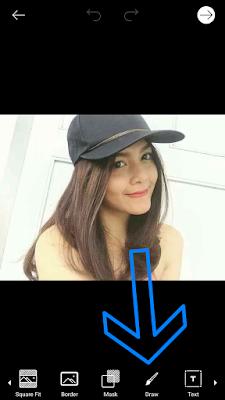 Cara Edit Foto Merubah Warna Rambut di PicsArt Android