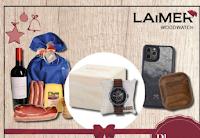"""LAiMER : vinci gratis una Box edizione limitata ′""""ARTHUR"""" , specialità altoatesini e accessori in legno Woodcessories"""