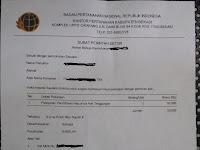 Contoh Surat Pencabutan Berkas Di Bpn