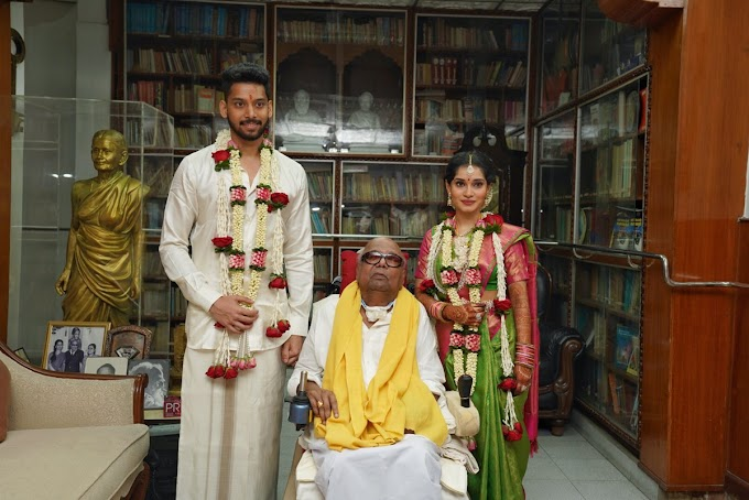 Vikram's daughter Akshita married to Manu Ranjith