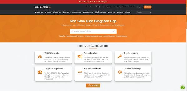 Kinh nghiệm khi mua Theme Blogspot
