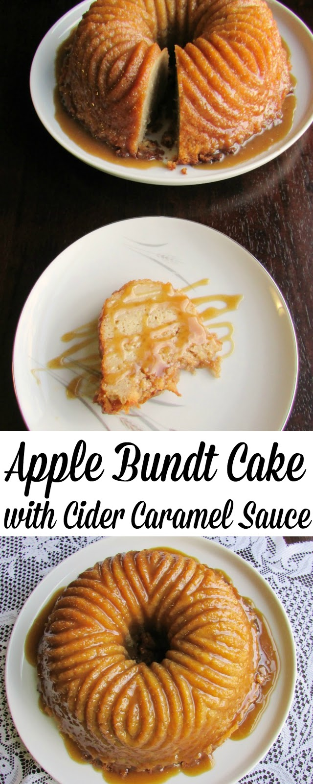 Cooking With Carlee Apple Bundt Cake With Cider Caramel Sauce