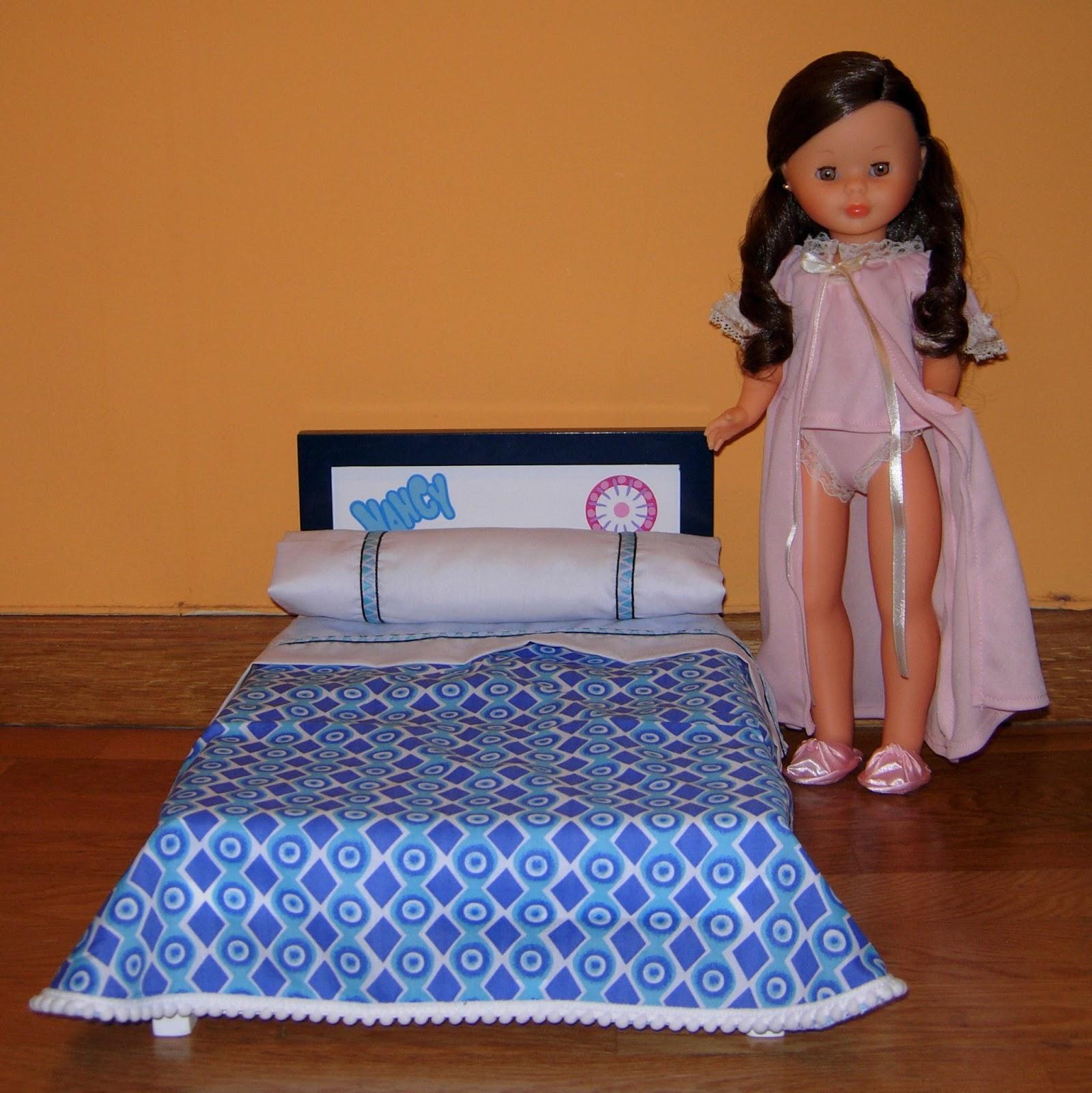 Muñecas Modelo Y Accesorios Nancy Bed Doll Famosa Nancy Cama Reedicion Nueva Juguetes