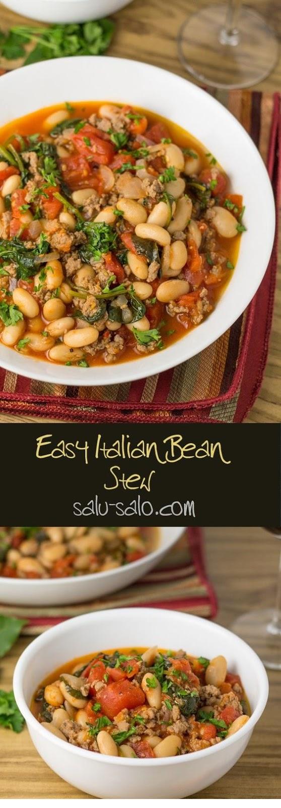Easy Italian Bean Stew