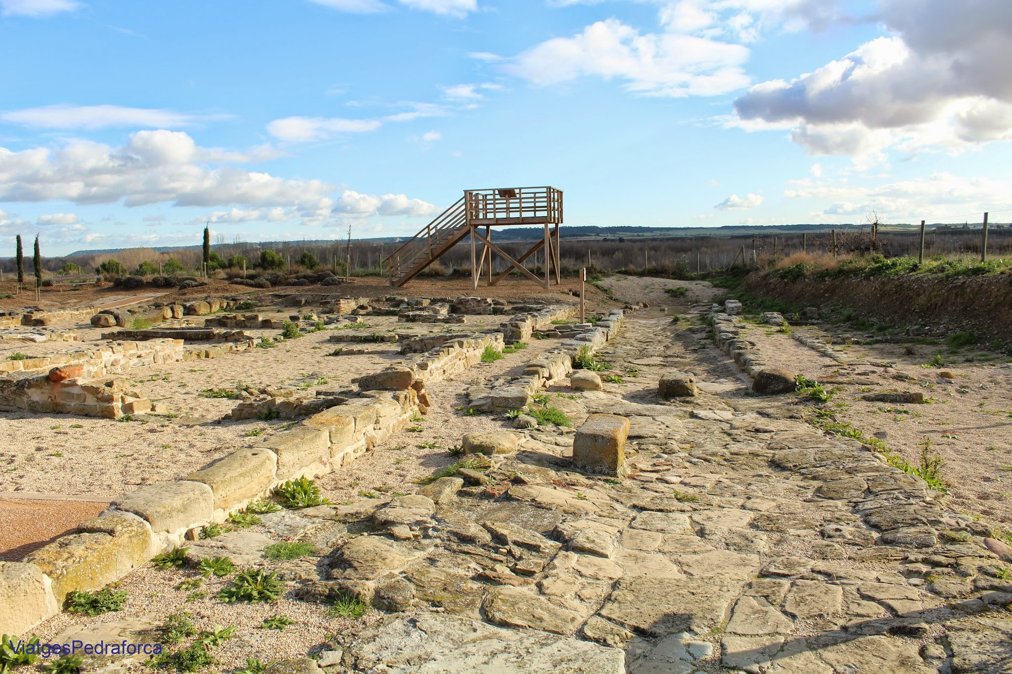 Ciudad romana de Cara Santacara Navarra