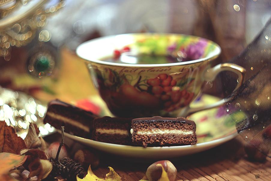 Осень чай кофе