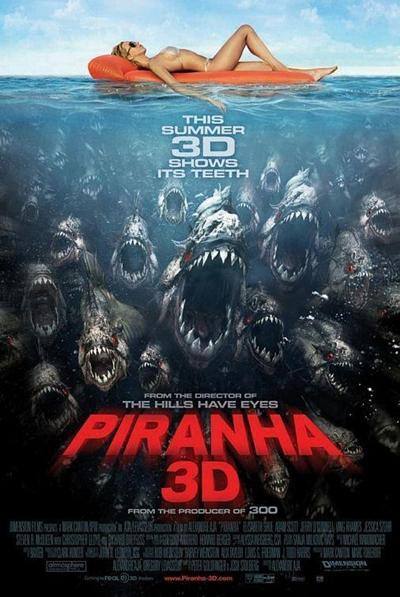Piraña 3D DVDRip Español Latino Película 2010