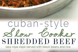 CUBAN SHREDDED BEEF (SLOW COOKER)