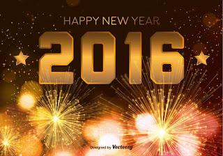 Kartu Ucapan Happy new year 2016 selamat tahun 2016 2
