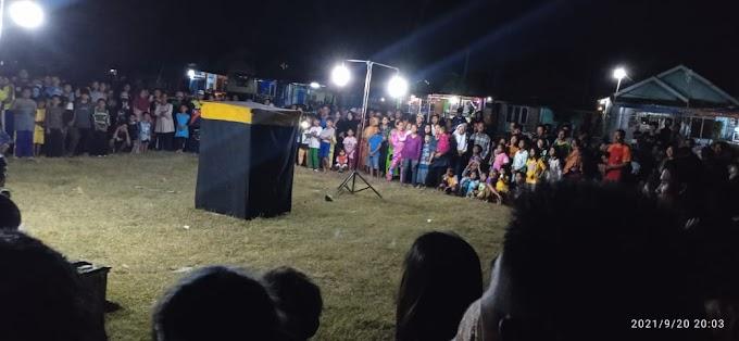 Viral..!! Kerumunan di Acara Atraksi Debus dibubarkan  Karena Berpeluang Kembali Menjadi Tempat Penyebaran Covid-19