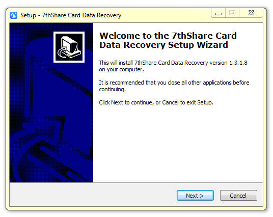 7thShare Card Data Recovery 1.3.1.8 Full (Recuperar datos de Tarjetas SD)