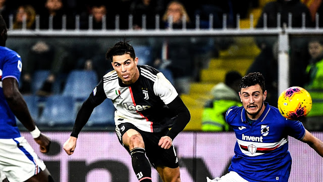 Sampdoria vs Juventus Highlights
