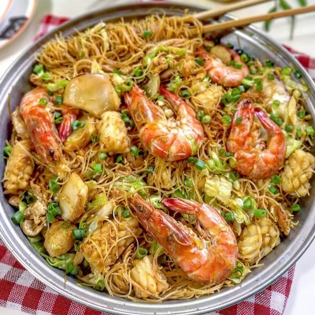 Resep Bihun Goreng Spesial ala Restoran