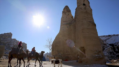 تراجع عائدات السياحة التركية بنسبة 65% خلال عام 2020