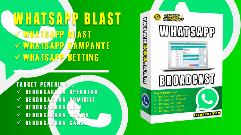 Jasa Whatsapp Blast Khusus Webinar | Jasa Whatsapp Blast | Jasa Iklan Google Ads