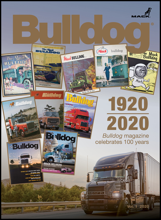 Mack Trucks Bulldog Magazine Celebrates 100 Years