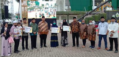 Raih Juara 1, Kontingen MTQ Sibolga Ririn Fadhilah Jadi Wakil Sumut Tingkat Nasional