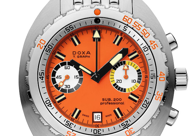 DOXA SUB 200 T.Graph Limited Edition