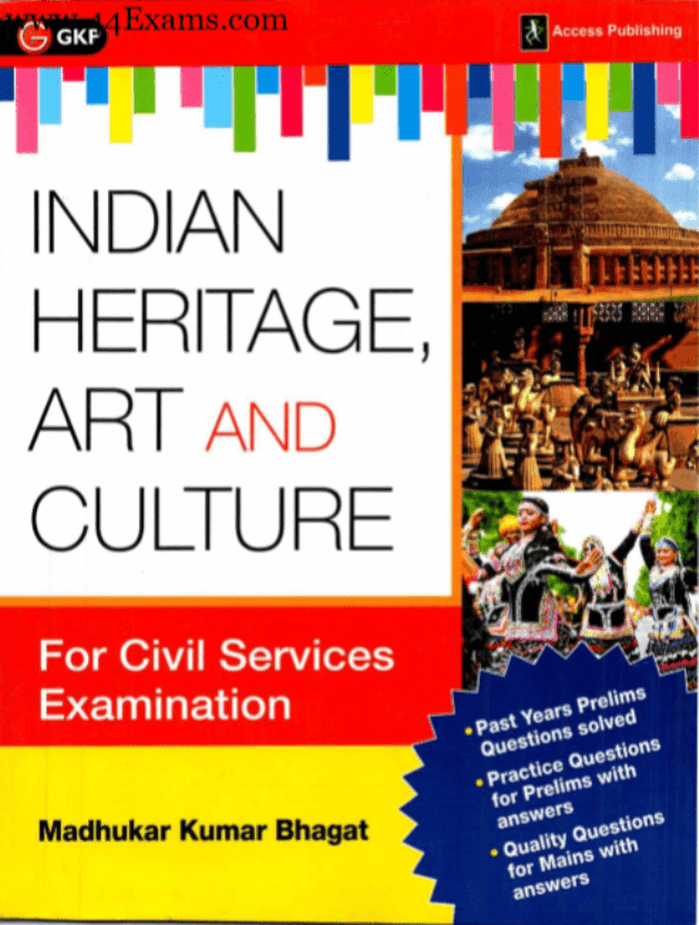Indian-Heritage-Art-and-Culture-by-Madhukar-Kumar-Bhagat-For-UPSC-Exam-PDF-Book