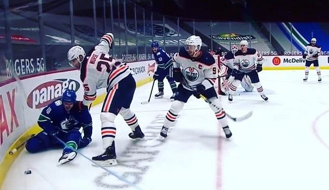 jake virtanen pulls groin canucks nhl hockey