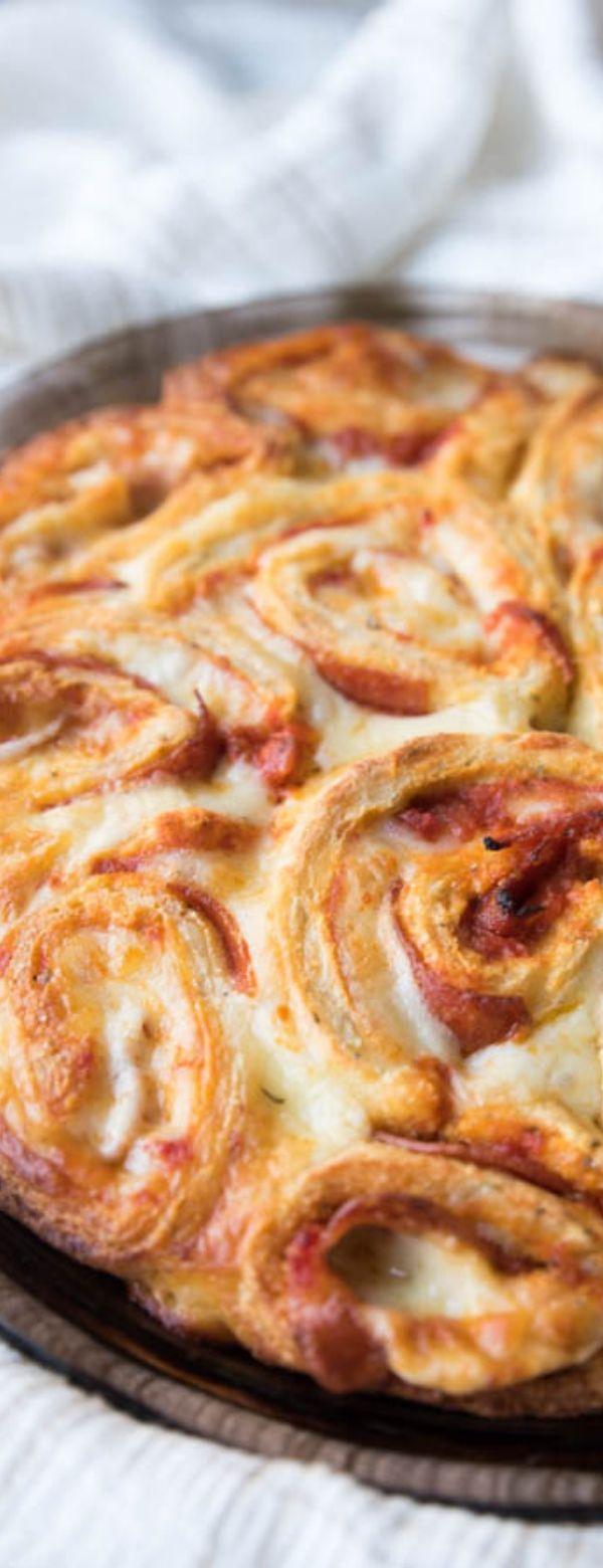 Keto Fathead Low Carb Pizza Rolls