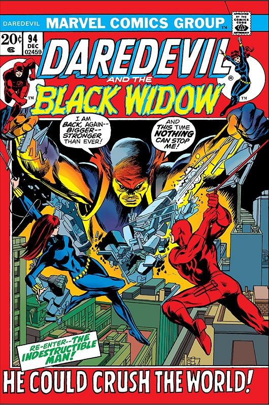 Cover of Daredevil Vol 1 #94