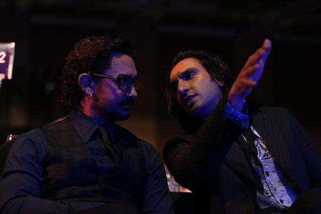 Ranveer Singh at GQ Men Of The Year Awards 2017