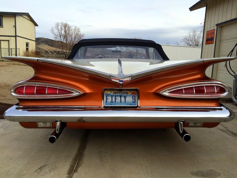Rodcitygarage 1959 Chevrolet Impala Convertible