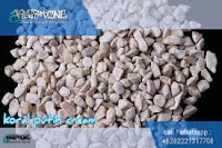 batu sikat putih cream