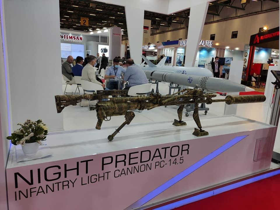 Mayak showcases Night Predator sniper rifle